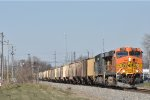 BNSF 7732 On CSX K 813 Eastbound At South Ham,Ohio